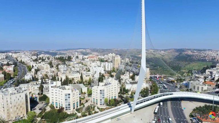 Струнный мост, Иерусалим